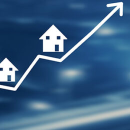 A graphic showing housing market